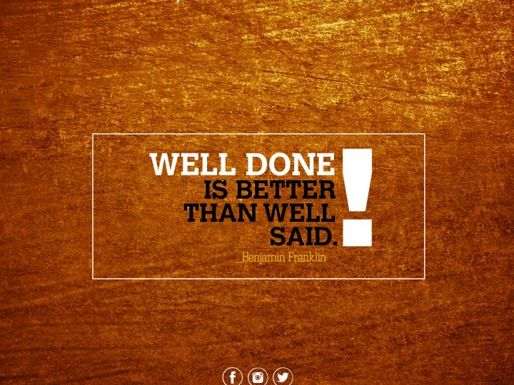 Do Is Better Than Say